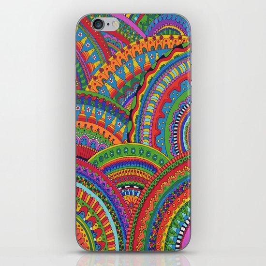 My brain happy iPhone & iPod Skin