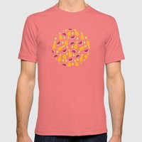 summer fruits Mens Fitted Tee Pomegranate SMALL