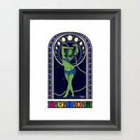 Trek Nouveau Framed Art Print