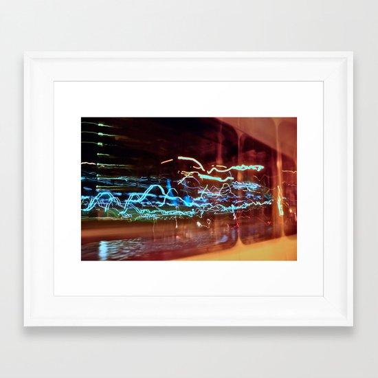Long Exposure II Framed Art Print