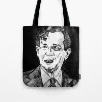 43. Zombie George W. Bush  Tote Bag