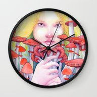 Keeper Of The Scarlet Ga… Wall Clock