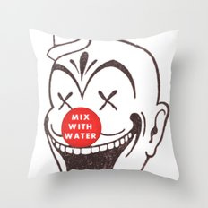mix with water Throw Pillow