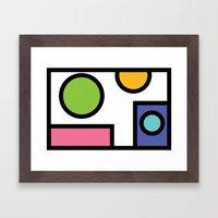 No. 5 Framed Art Print