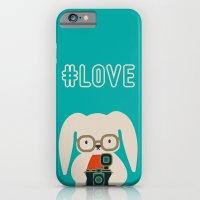 Hipster #LOVE iPhone 6 Slim Case