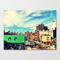 Chelsea, NYC Canvas Print