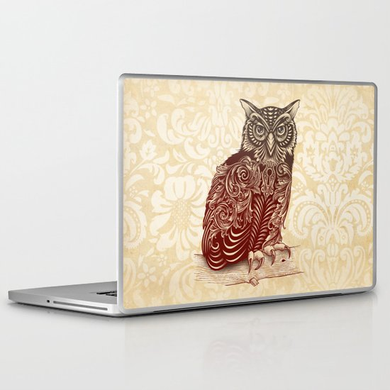 Most Ornate Owl Laptop & iPad Skin