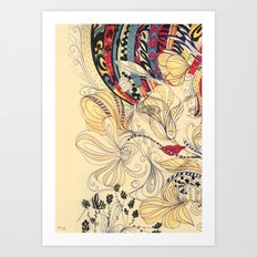 jardineira Art Print