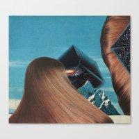 the thin air - goofbutton collaboration #7 Canvas Print