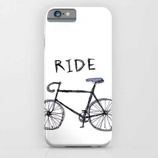 bike ride iPhone & iPod Case