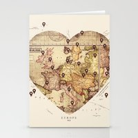 Love To Travel Stationery Cards