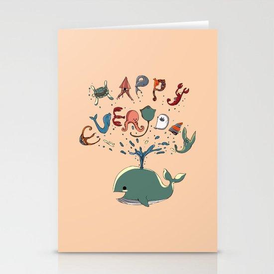 Happy Everyday Stationery Card