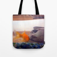 Fish in trouble Tote Bag
