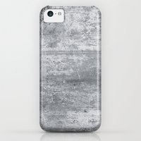 iPhone 5c Cases featuring Concrete by Grace