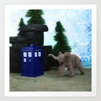 Day of the Elephant Art Print
