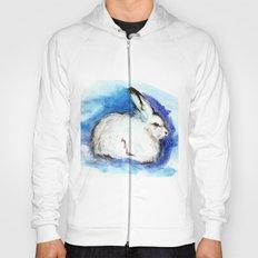 Grumpy Artic Hare Hoody