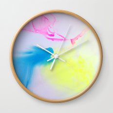 Washes IV Wall Clock
