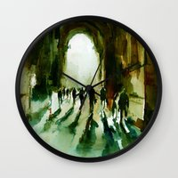 Without An End Or A Begi… Wall Clock