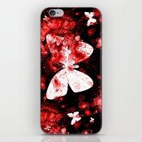 Butterfly Splatter iPhone & iPod Skin