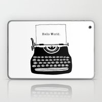 Hello World. Laptop & iPad Skin