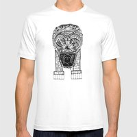 Jaw Lock Mens Fitted Tee White SMALL