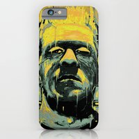 iPhone & iPod Case featuring Frankenstein by nicebleed