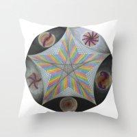 Galactic Pentagram (ANAL… Throw Pillow