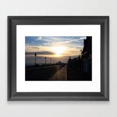 OceanCity;NJ Framed Art Print