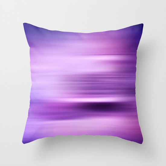 WATERSHAPES + COLOURS Throw Pillow