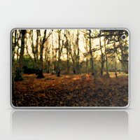 Autumn In The Forest - Painting Style Laptop & iPad Skin