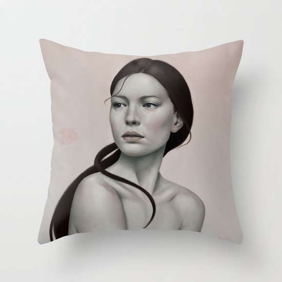 254 Throw Pillow