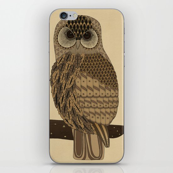 The Laughing Owl iPhone & iPod Skin