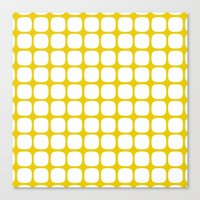 Franzen Yellow Canvas Print