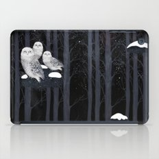 Snow Owls iPad Case