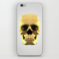Polygon Heroes - Gold Sk… iPhone & iPod Skin