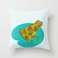 A new pad Throw Pillow
