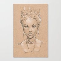 Pencil study Canvas Print