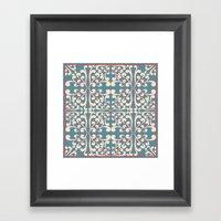 Indian Decorative Design Framed Art Print