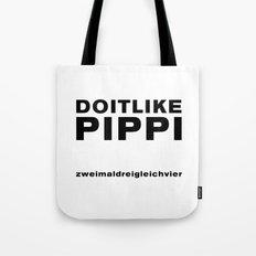 Like Pippi Tote Bag