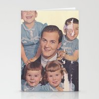 He's A Family Man Stationery Cards