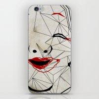J_mask iPhone & iPod Skin