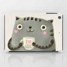 I♥kill (brown) iPad Case