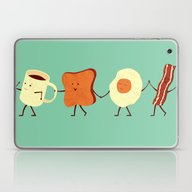 Laptop & iPad Skin featuring Let's All Go And Have Br… by Teo Zirinis