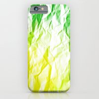 iPhone & iPod Case featuring crumpled sheet by Li9z