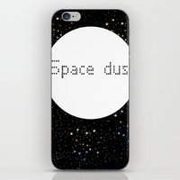 Space dust iPhone & iPod Skin