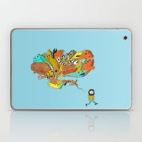 Thinking Of Monsters Laptop & iPad Skin