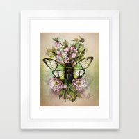 Cicada [The last summer chant]] Framed Art Print