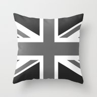 Union Jack Authentic Sca… Throw Pillow