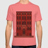 Williamsburg Mens Fitted Tee Pomegranate SMALL