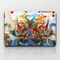 liquified space iPad Case
